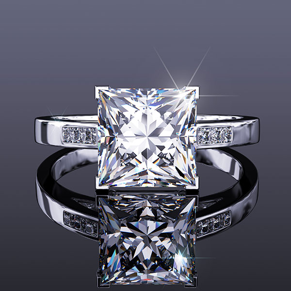 The Princess Cut Diamond Engagement Ring - Your Master Guide