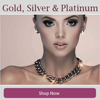 Shop Gold, Silver and Platinum Necklaces